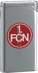 Feuerzeug Tempo Chrom matt 1. FC Nürnberg Vereinslogo