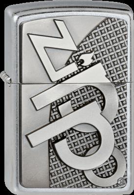 Zippo 2003252 #207 Zippo Logo 3D Emblem