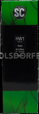 SC HW1 Heads 0,2 Ohm 5er