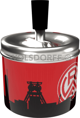 Schleuderaschenbecher Rot-Weiss Essen