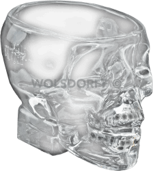 Crystal Head Vodka Totenkopf Glas