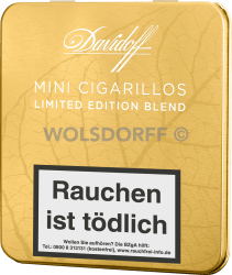 Davidoff Mini Cigarillos Gold Limited Edition 2016 10er