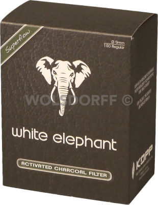 White Elephant Aktivkohlefilter 9mm