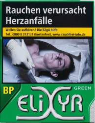 Elixyr Green Cigarettes Big Pack (8 x 23)