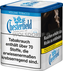 Chesterfield Blue Volume Tobacco L Dose 50 g