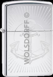 Zippo 60004083 #250 Anchor Design