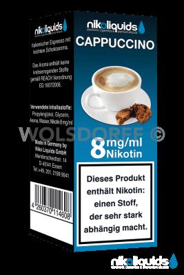 Nikoliquids Cappuccino