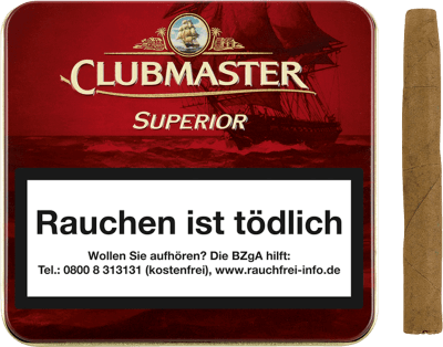 Clubmaster Superior Red 20er