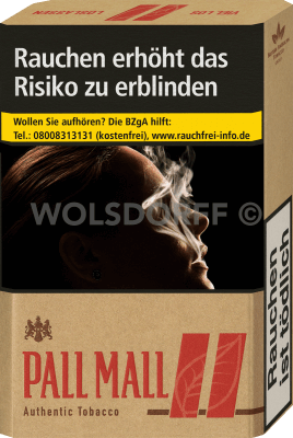 Pall Mall Authentic Red Original Pack (10 x 20)
