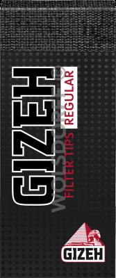 Gizeh Black Regular Filtertips 35er