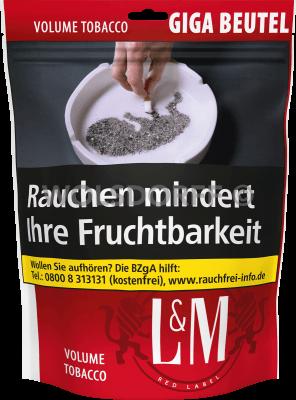 L&M Premium Tobacco Red GIGA Beutel 150 g