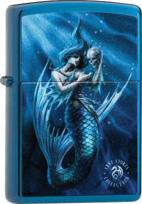 Zippo 60004215 #20446 Anne Stokes Mermaid