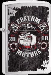 Zippo 60004103 #200 Bull Dog Custom Motor