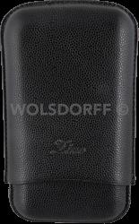 Zino Zigarrenetui R-3 Leder schwarz