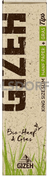 Gizeh Hanf + Gras King Size Slim + Tips 34 Blatt