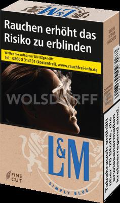 L&M Simply Blue Original Pack (10 x 20)