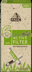 Gizeh Hanf Active Filter 6mm 10er