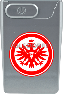USB Card Lighter silberfarben Eintracht Frankfurt