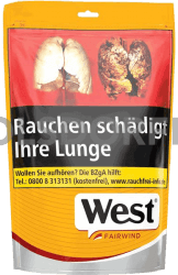 West Yellow Volume Tobacco Beutel 155 g