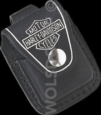 Zippo 60001255 Pouch Harley-Davidson® Black