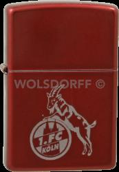 Zippo Candy Apple Red 1. FC Köln