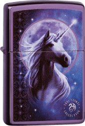 Zippo 60004216 #24747 Anne Stokes Unicorn