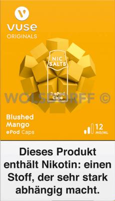 Vuse ePod Caps Nic Salts Blushed Mango 2er