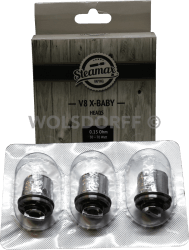Steamax V8 X-Baby X4 Quadruple Heads 0,13 Ohm Heads