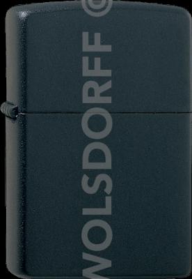 Zippo 60001195 #218 Black Matte