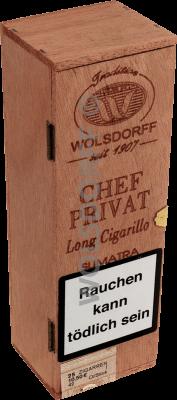 Chef Privat Long Cigarillo Sumatra 25er
