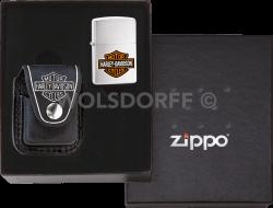 Zippo 60000742 Harley-Davidson® Pouch Black Gift Set