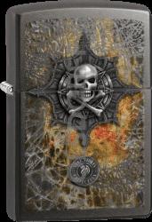 Zippo 60001418 Anne Stokes Skull/Bones