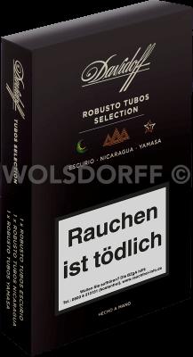 Davidoff Discovery Robusto Tubos Selection black