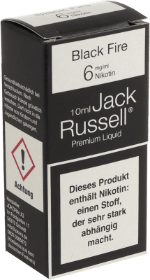 Jack Russell Liquid No1 Black Fire
