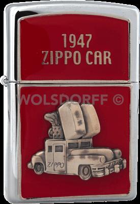 Zippo 310034 1947 Zippo Car Red