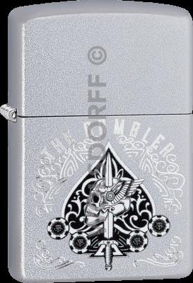 Zippo 60004134 #205 Gambler Skull Design
