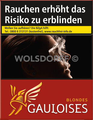 Gauloises Blondes Rot (6 x 33)
