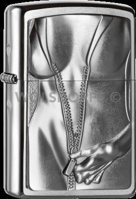 Zippo 2004667 #200 Zipper Girl Emblem