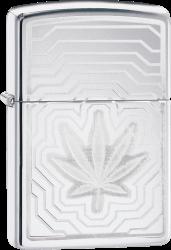 Zippo 60004262 #250 Leaf Layers Design