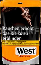 West Yellow Volume Tobacco Beutel 92 gr