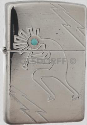Zippo 20441 Kokopelli Flash