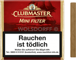 Clubmaster Mini Filter Red 20er
