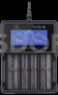 XTAR VC4 4 USB-Ladegerät