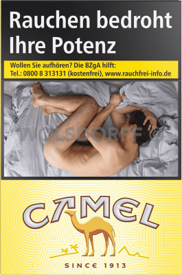Camel Yellow Original Pack (10 x 20)