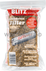 Blitz System Aktivkohle Filter