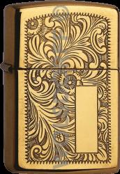 Zippo 60000814 #352B Venetian® High Polish Brass