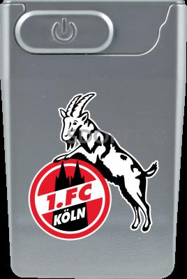 USB Card Lighter silber 1. FC Köln