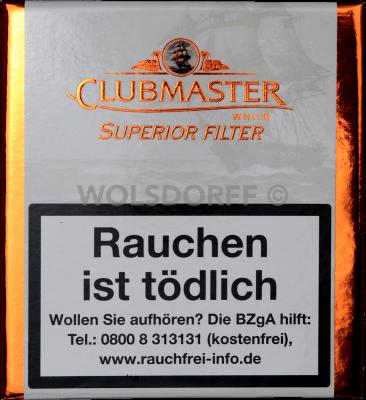 Clubmaster Mini Filter White