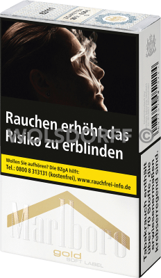 Marlboro Gold Soft Label Original Pack (10 x 20)