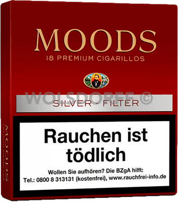 Dannemann Moods Silver Filter